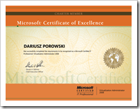 MCITP Virtualization Administrator 2008 R2