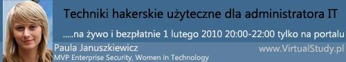 VirtualStudy.pl | PaulaJanuszkiewicz | Techniki hakerskie uzyteczne dla administratora IT